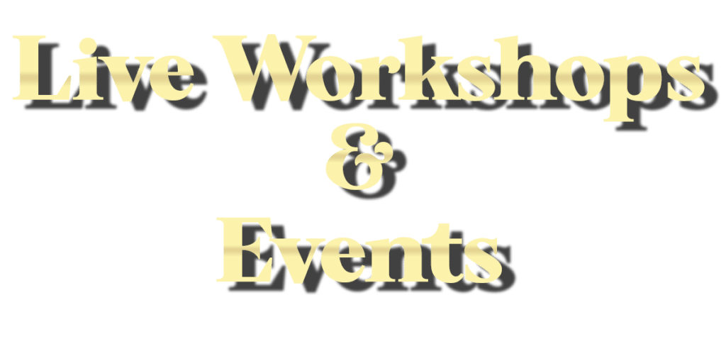 Writing Workshops and Master Classes